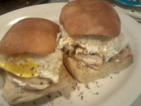 Sweet Chicken Breakfast Sandwich Recipe