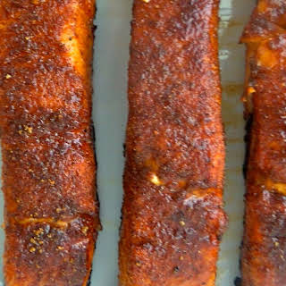 BBQ-Rub Salmon.
