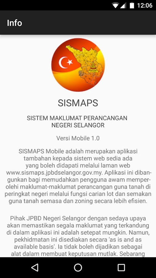 SISMAPS- screenshot