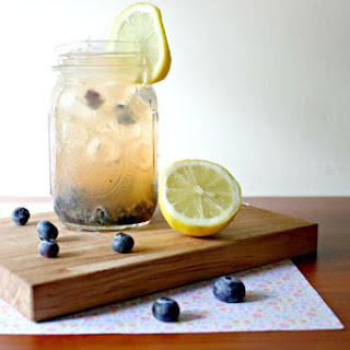 Blueberry Apple Cider Vinegar Drink