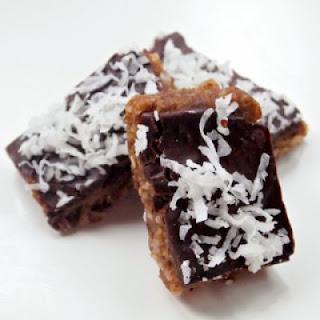Double Chocolate Coconut Fudge Bars Recipe