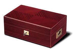 Davidoff Humidor No 4 Red Mahogany