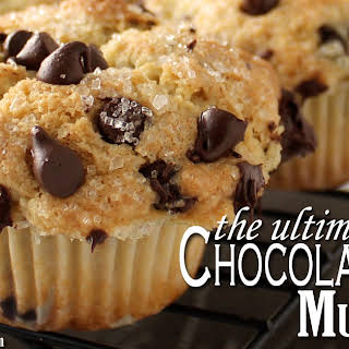 The Ultimate Chocolate Chip Muffins.