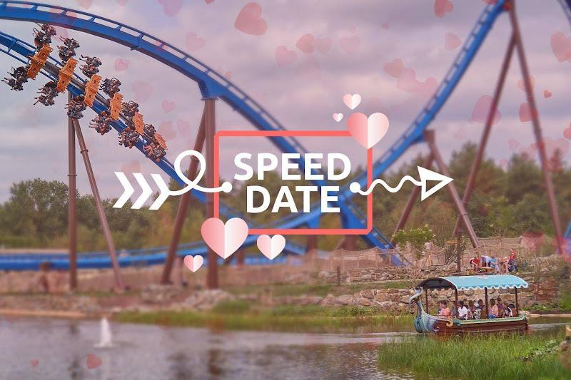 Speeddaten in 40 meter hoge achtbaan in Attractiepark Toverland