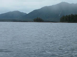 Photo: Approaching Kah Shakes Cove.