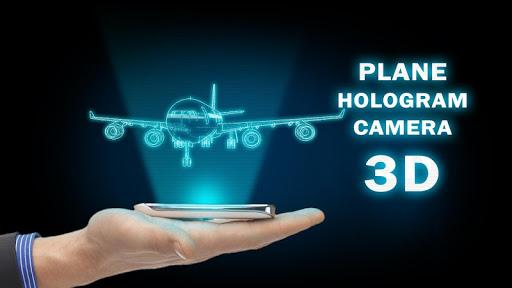 Plane Hologram Camera 3D