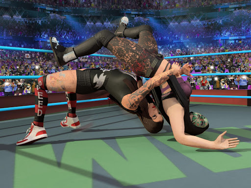 Bad Girls Wrestling Rumble: Women Fighting Games apktram screenshots 15