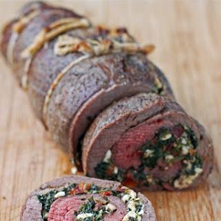 Spinach and Feta Stuffed Flank Steak