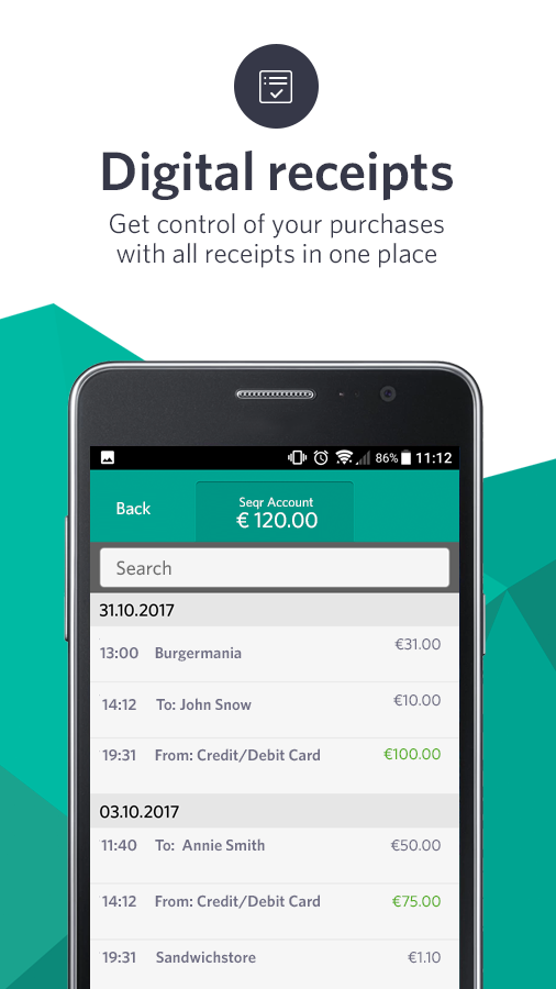 Seqr Tap And Pay