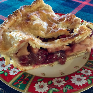 Tangy and Tasty Cranberry Apple Pie