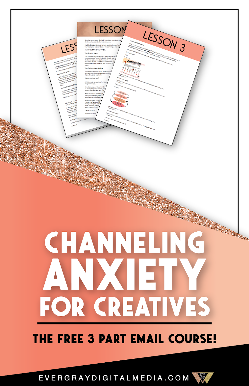 Ever thought of anxiety as an energy resource for creativity? It can be! Find out how this practice works, and how you can do it too with the free Channeling Anxiety for Creatives email course