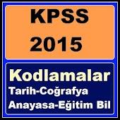 KPSS Kodlamalar Şifreler Tarih