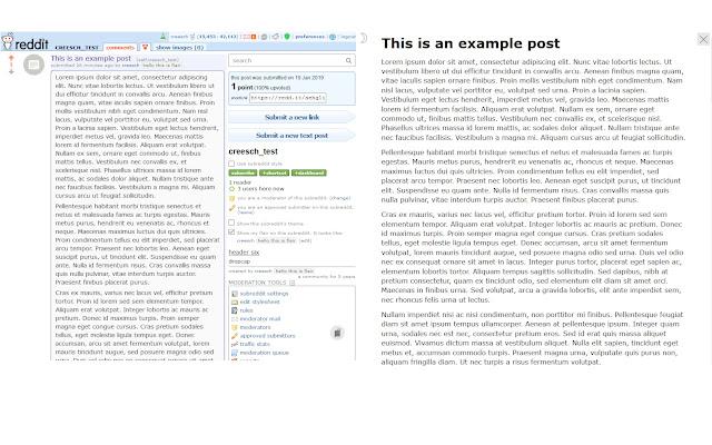 readReddit, Readable text posts on reddit