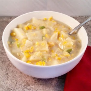 Creamy Vegetarian Corn Chowder