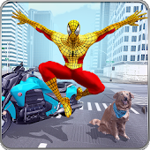Super Spider Hero Crime City: Spider Boy Adventure