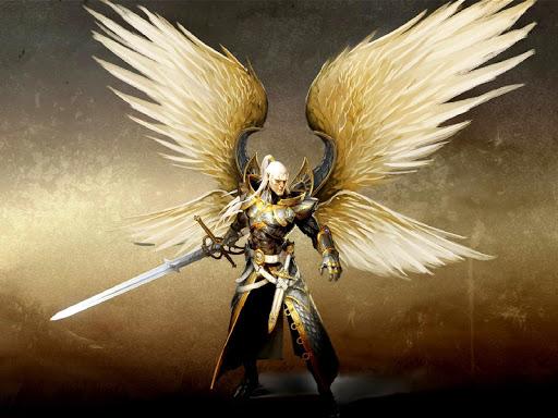 Angel Warrior Live Wallpaper