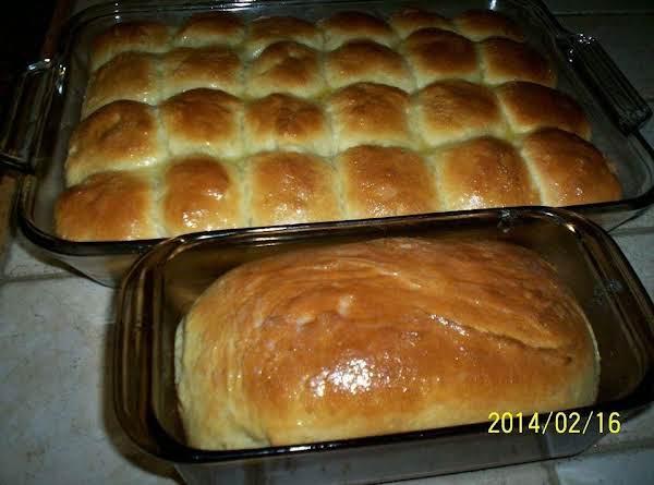 Homemade King Hawaiian Rolls Or Loaf