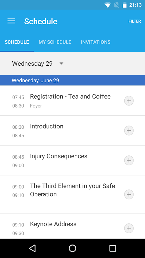 FLTA Safety Conference 2016- screenshot