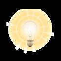 On-screen Flashlight icon