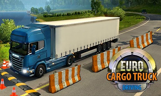 Euro Truck Cargo Driving 2017- screenshot thumbnail
