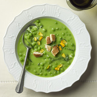 A Green Peas Soup, without Meat.