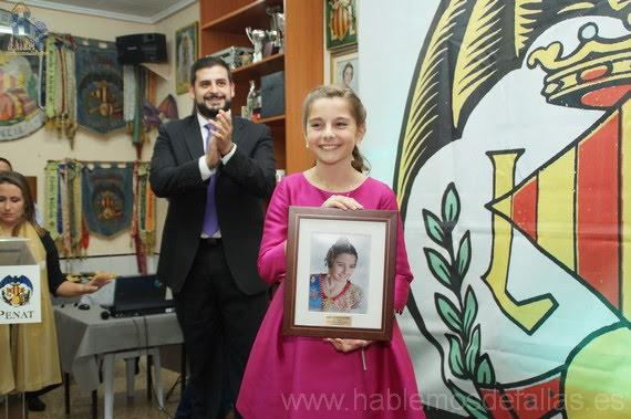 Homenaje a Sonia Palomera Ibañez. Falla Lo Rat Penat