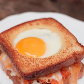 Grilled Cheese & Sweet Potato Breakfast Sandwich