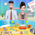 Bank Cash Manager: Virtual Cashier Learning icon