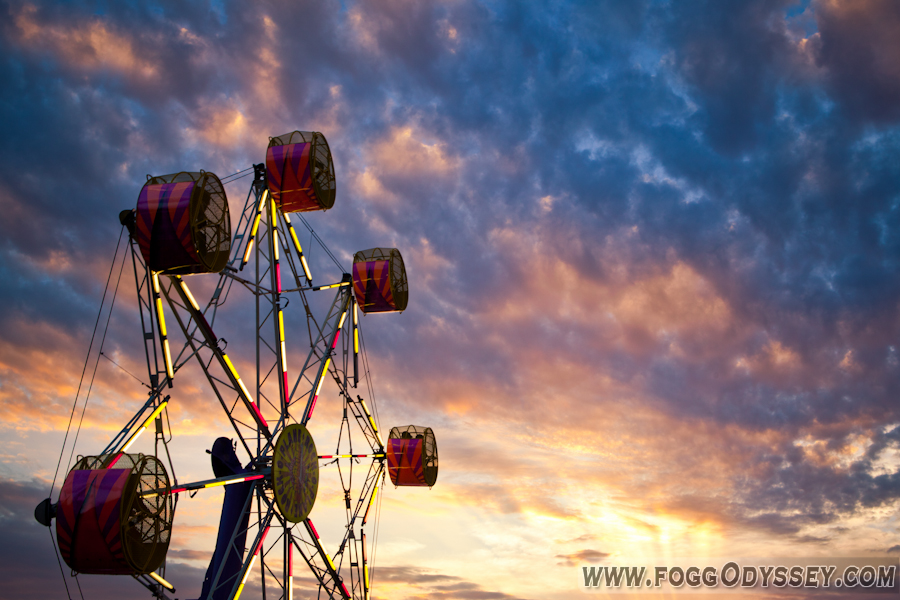 Photo: Something I shot in my hometown at the fair. Got a beautiful sunset with even better clouds! More of my work can be seen at my website here: http://foggodyssey.com/  Texas County Fair Houston, Missouri 03Aug2012