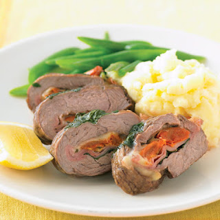 Lamb and Basil Roulade