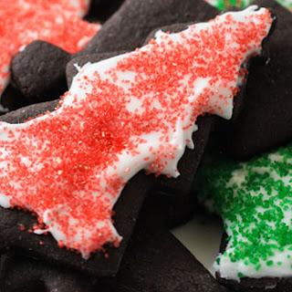 Dark Chocolate Cinnamon Holiday Cookies