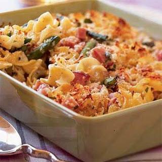 Asparagus-and-Ham Casserole.