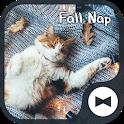 Cat Wallpaper Fall Nap Theme icon