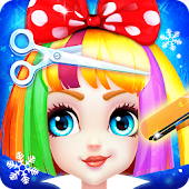 Hair Salon Games: Ice Princess