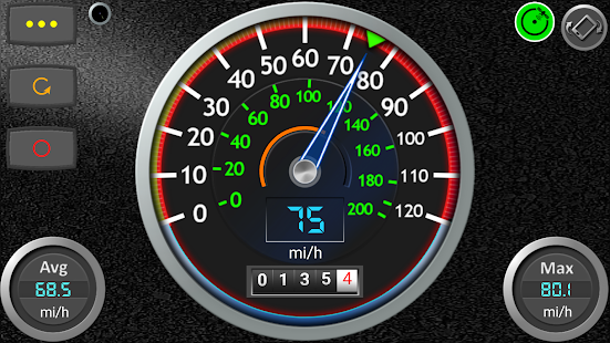DS Speedometer & Odometer Screenshot