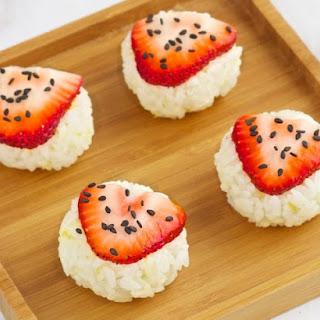 Strawberry Sushi.