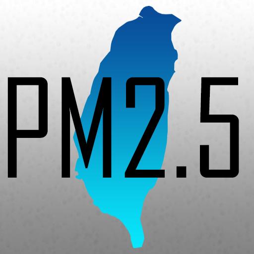 台灣 Taiwan PM2.5 即時分佈圖 天氣 App LOGO-APP開箱王