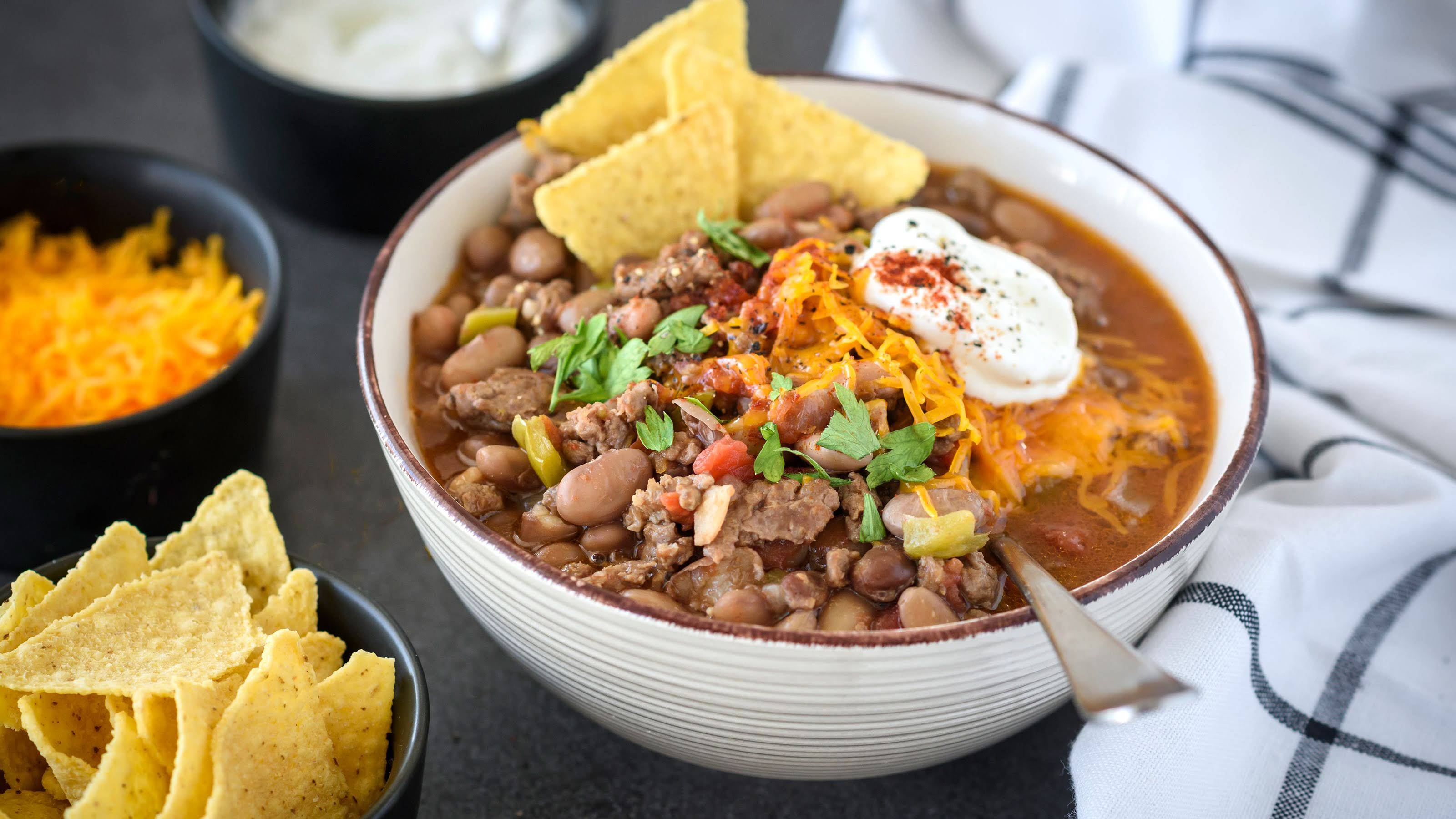 10 Best Pinto Bean Chili Crock Pot Recipes Yummly