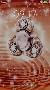 Glitter fidget spinner Live Wallpapers Lock Screen - náhled