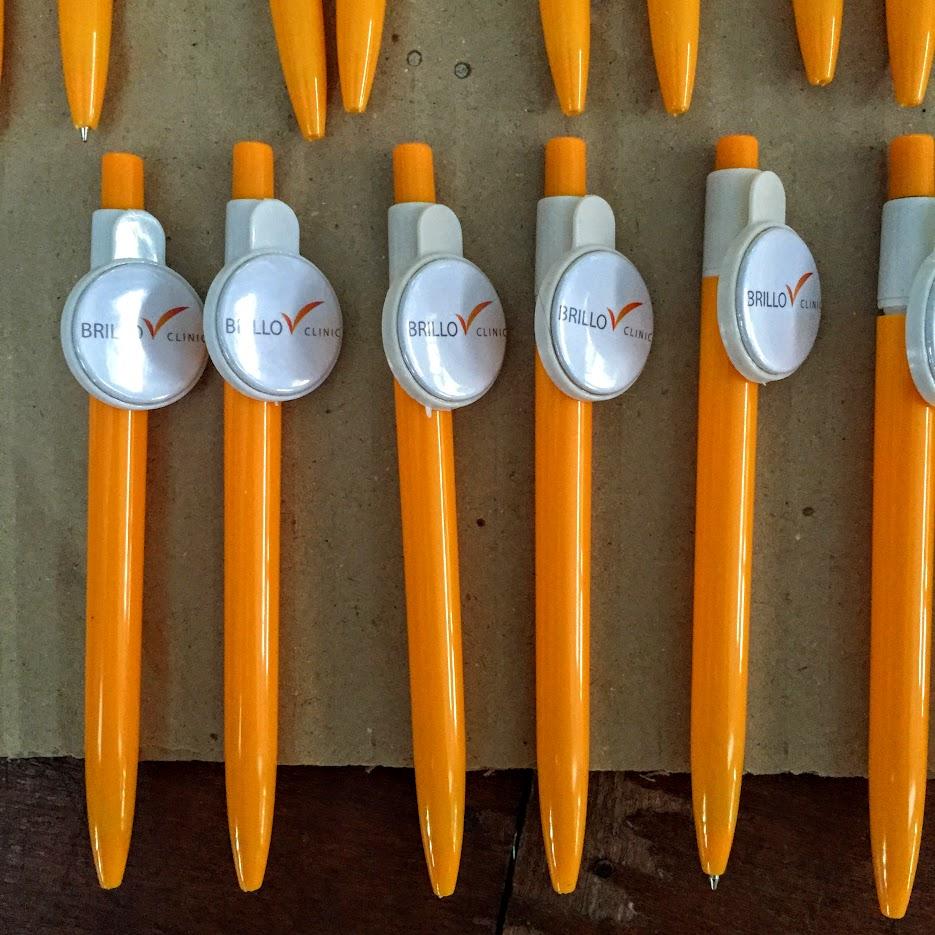 เข็มกลัด เข็มกลัดปากกา สกรีนปากกา ของที่ระลึก