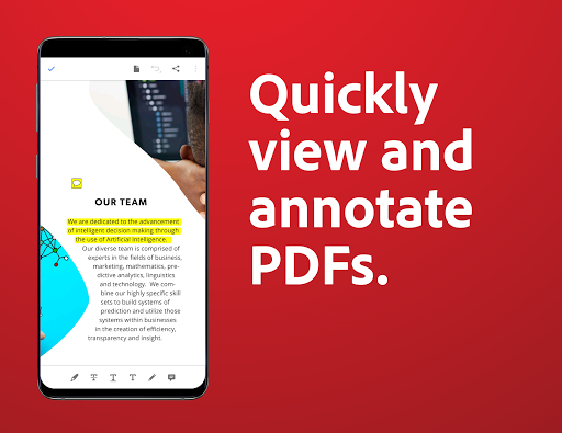 Adobe Acrobat Reader: PDF Viewer, Editor & Creator  screenshots 3