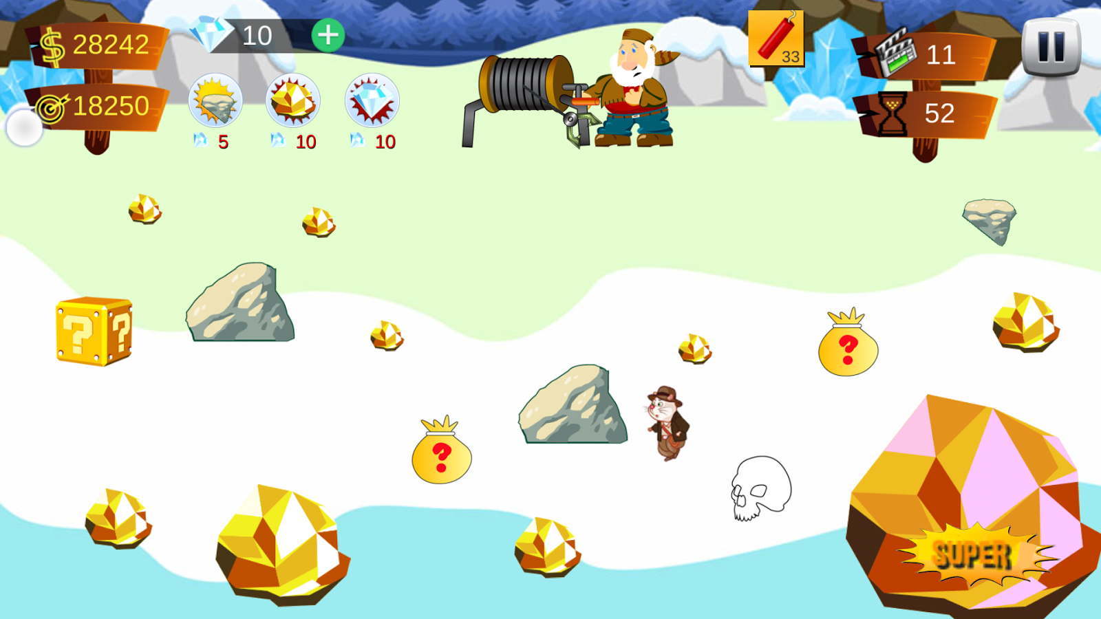 Gold Miner Super- screenshot