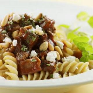 Rigatoni with Beef & Eggplant Ragu