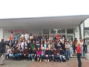 Photo: The c Comenius students