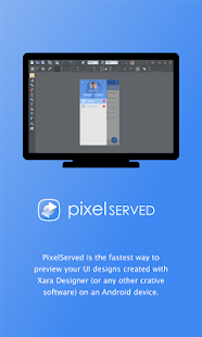 PixelServed - Preview UI Designs- screenshot thumbnail