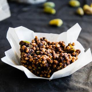 Hazelnut & Pistachio Crispy Quinoa Clusters