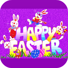 Easter GIF AND MESSAGE 🐇
