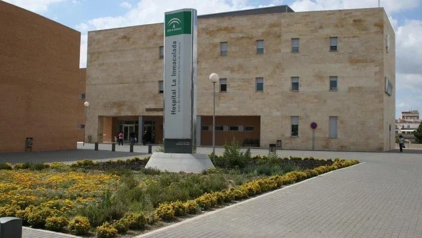 Instalaciones del Hospital La Inmaculada de Huércal-Overa.