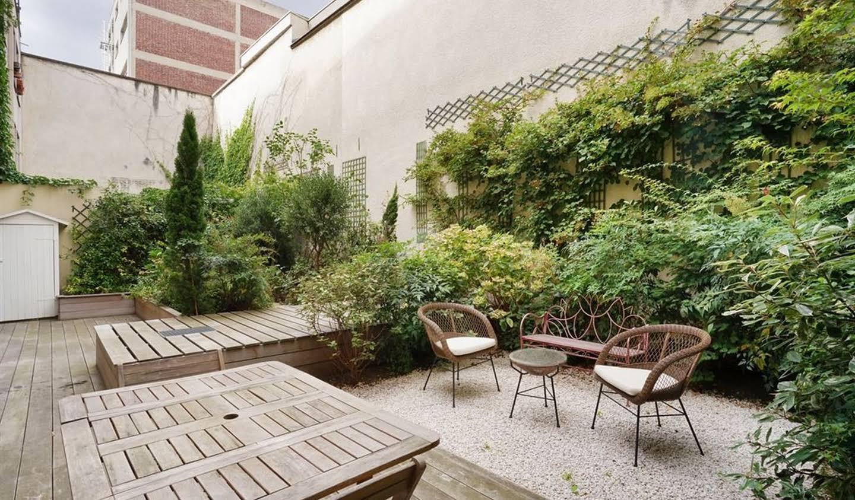 Appartement contemporain avec terrasse Paris 10ème