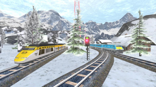 Euro Train Racing 3D screenshot 8